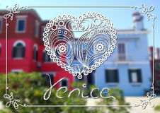 Venedig 8 vektor abbildung