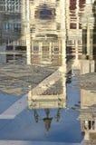Venedig Acqua Alta Stockfotografie