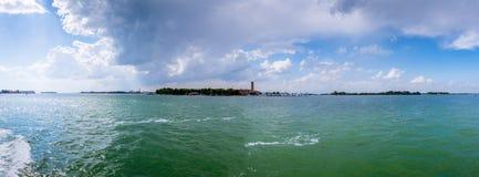 Venedig auf dem Wasser Stockbilder