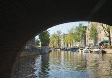 Venedig av norden, Amsterdam Royaltyfria Foton