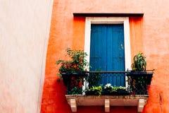 Venedig-Balkon Lizenzfreie Stockbilder