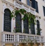 Venedig-Balustrade Stockfoto