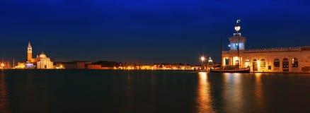Venedig bei Sonnenuntergang lizenzfreies stockbild