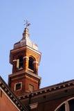 Venedig - belltower royaltyfri fotografi