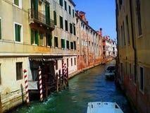 Venedig Berühmte Stadt auf dem Wasser in den hellen Farben Italien Lizenzfreie Stockfotos