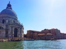 Venedig Berühmte Stadt auf dem Wasser in den hellen Farben Italien Stockbilder