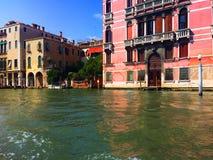 Venedig Berühmte Stadt auf dem Wasser in den hellen Farben Italien Stockfotografie