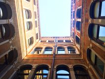 Venedig Berühmte Stadt auf dem Wasser in den hellen Farben Italien Lizenzfreies Stockfoto