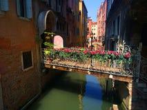 Venedig Berühmte Stadt auf dem Wasser in den hellen Farben Italien Stockbild