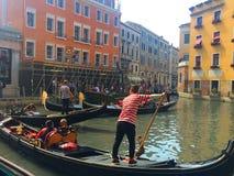 Venedig Berühmte Stadt auf dem Wasser in den hellen Farben Italien Lizenzfreie Stockfotografie