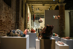 Venedig biennal 2017, Judith Scott Royaltyfria Foton