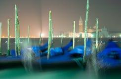 Venedig bis zum Nacht Stockfotografie