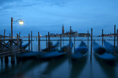 Venedig bis zum Nacht Lizenzfreie Stockfotografie