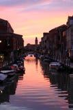 Venedig bis zum Nacht Lizenzfreies Stockfoto