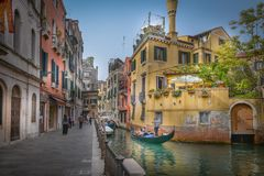 Venedig bis zum Tag lizenzfreies stockbild