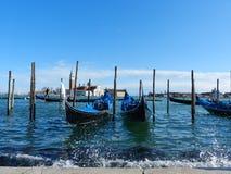 Venedig-Boote Lizenzfreies Stockbild