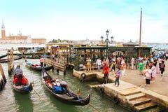 Venedig-Boote Lizenzfreies Stockfoto