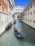 Venedig: Brücke von Seufzern Lizenzfreie Stockfotografie