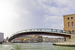 Venedig calatravabro Arkivfoto