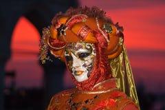 Venedig Carnivale Royaltyfri Foto