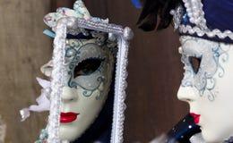 Venedig Carnivale Arkivfoton