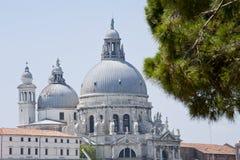 Venedig - Chiesa DiSanta Maria Della honnör Arkivbild