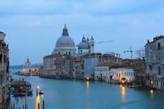 Venedig an der Dämmerung Stockbilder