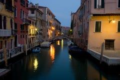 Venedig an der Dämmerung Stockfotos