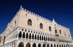 Venedig - der Palast des Doges Stockbild