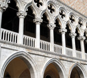 Venedig - der Palast des Doges lizenzfreie stockfotografie