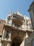 Venedig - der Palast von Doges stockfotos