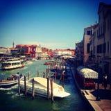 Venedig in der Sommerzeit Lizenzfreies Stockbild