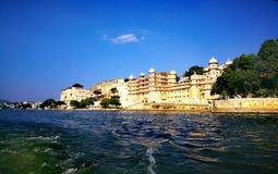 Venedig des Ost-Udaipur Mewar stockbild