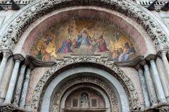 Venedig, Detail eines byzantinischen Mosaiks Lizenzfreies Stockfoto