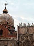 Venedig: detaljer royaltyfria bilder