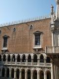 Venedig - Doges-Palast stockfotos