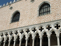 Venedig - Doges-Palast lizenzfreie stockbilder