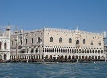 Venedig doges slott Royaltyfria Bilder