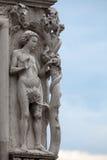 Venedig - doges slott. royaltyfri fotografi