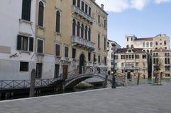Venedig Dorsoduro Royaltyfri Bild