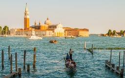Venedig en av den mest drömde staden Arkivfoto