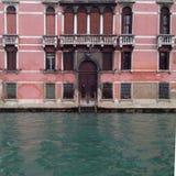 Venedig fasad Arkivfoto