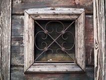 Venedig - gammal träslutare royaltyfri fotografi