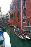Venedig gata Royaltyfri Fotografi