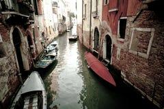 Venedig gata Royaltyfria Bilder