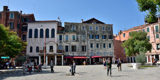 Venedig Getto Novo Stockfotos