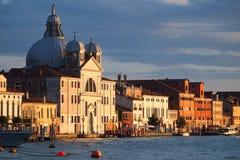 Venedig - Giudecca ö arkivfoton