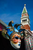 Venedig, Glockenturm von San Marco Lizenzfreies Stockbild