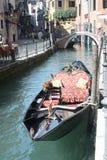 Venedig-Gondel Lizenzfreies Stockfoto
