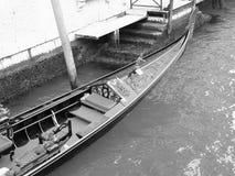 Venedig-Gondel Stockbild